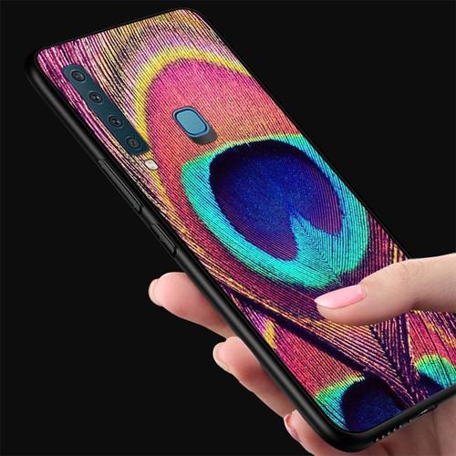 Ốp điện thoại kính cường lực cho máy Samsung Galaxy A30 - chim công phượng MS CPHUONG092
