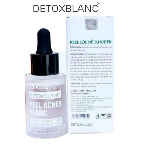 Serum peel detox blanc 2 loại trị mụn và đặc trị nám, tàn nhan, giảm nếp nhăn,dưỡng trắng da