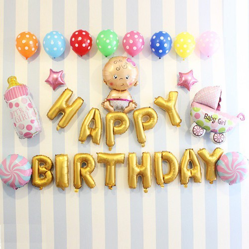 Free ship set bóng sinh nhật cho bé hình xe nôi em bé to happybirthday - 12427265 , 20222166 , 15_20222166 , 149250 , Free-ship-set-bong-sinh-nhat-cho-be-hinh-xe-noi-em-be-to-happybirthday-15_20222166 , sendo.vn , Free ship set bóng sinh nhật cho bé hình xe nôi em bé to happybirthday