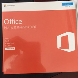 Microsoft Office Home and Bussiness 2016