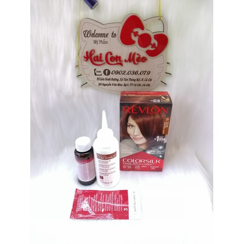 Nhuộm tóc revlon 31 màu nâu đỏ sẫm - 12417414 , 20206990 , 15_20206990 , 125000 , Nhuom-toc-revlon-31-mau-nau-do-sam-15_20206990 , sendo.vn , Nhuộm tóc revlon 31 màu nâu đỏ sẫm