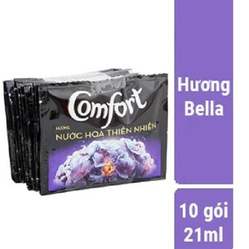 Nước xả vải comfort hương nước hoa  bella gói 21ml dây 10 gói - 12435117 , 20235062 , 15_20235062 , 19000 , Nuoc-xa-vai-comfort-huong-nuoc-hoa-bella-goi-21ml-day-10-goi-15_20235062 , sendo.vn , Nước xả vải comfort hương nước hoa  bella gói 21ml dây 10 gói