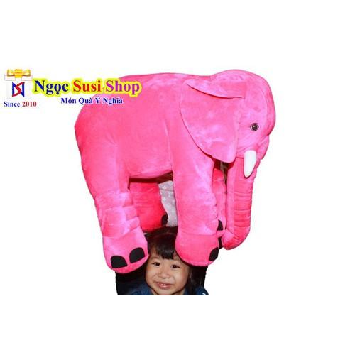 Thú bông gấu bông hình con voi đáng yêu cho bé khổ vải 70cm cực to nha - giá rẻ vô địch - giá sập sàn - 12432889 , 20231820 , 15_20231820 , 209000 , Thu-bong-gau-bong-hinh-con-voi-dang-yeu-cho-be-kho-vai-70cm-cuc-to-nha-gia-re-vo-dich-gia-sap-san-15_20231820 , sendo.vn , Thú bông gấu bông hình con voi đáng yêu cho bé khổ vải 70cm cực to nha - giá rẻ vô