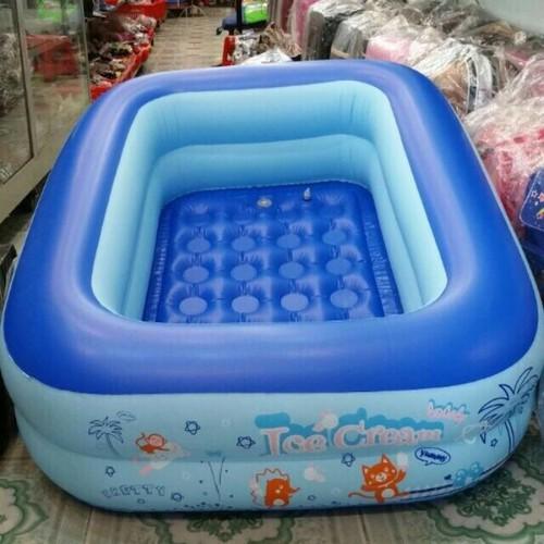Bể bơi phao bơi chữ nhật 2 tầng 1 2m - 12727462 , 21565563 , 15_21565563 , 138000 , Be-boi-phao-boi-chu-nhat-2-tang-1-2m-15_21565563 , sendo.vn , Bể bơi phao bơi chữ nhật 2 tầng 1 2m