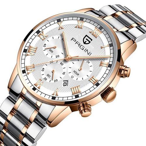 Đồng hồ nam pagini pa8096 doanh nhân - sang trọng