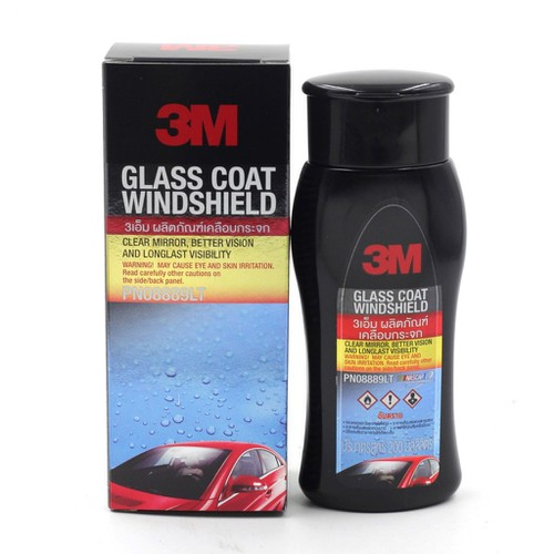 Dung dịch chống bám nước kính 3M™ Glass Coat Windshield 200ml