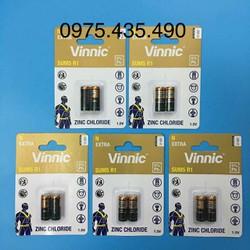 Sum5 R1 - Combo 5 Vỉ Pin Vinnic Sum5 R1 LR1 Chính Hãng Vỉ 2 Viên