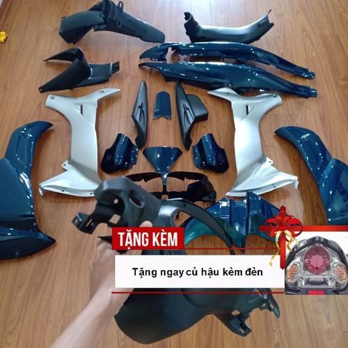 Dàn áo xe jupiter mx nhựa abs nguyên sinh cao cấp màu xanh nhớt phanh đĩa , tặng kèm bộ tem theo xe và củ hậu có đèn - 12429563 , 20225914 , 15_20225914 , 2400000 , Dan-ao-xe-jupiter-mx-nhua-abs-nguyen-sinh-cao-cap-mau-xanh-nhot-phanh-dia-tang-kem-bo-tem-theo-xe-va-cu-hau-co-den-15_20225914 , sendo.vn , Dàn áo xe jupiter mx nhựa abs nguyên sinh cao cấp màu xanh nhớt