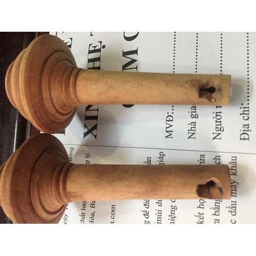 Combo 2 nõ điếu cày gỗ hai tầng