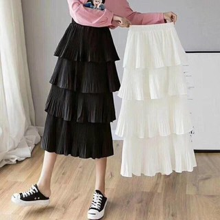 Chân váy dài 4 tầng - 189 thumbnail