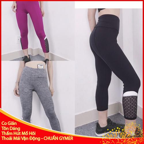 Quần legging tập gym nữ chất co giãn có túi hông để điện thoại - 12457887 , 20267432 , 15_20267432 , 250000 , Quan-legging-tap-gym-nu-chat-co-gian-co-tui-hong-de-dien-thoai-15_20267432 , sendo.vn , Quần legging tập gym nữ chất co giãn có túi hông để điện thoại
