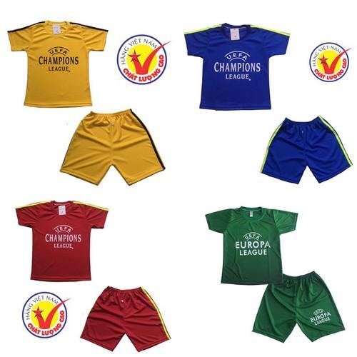 Sét 4 bộ đồ thể thao trẻ em, áo đấu câu lạc bộ dành cho bé trai và bé gái, thời trang thun lạnh cho bé từ 10-40kg- 4 màu khác - 12455238 , 20263346 , 15_20263346 , 250000 , Set-4-bo-do-the-thao-tre-em-ao-dau-cau-lac-bo-danh-cho-be-trai-va-be-gai-thoi-trang-thun-lanh-cho-be-tu-10-40kg-4-mau-khac-15_20263346 , sendo.vn , Sét 4 bộ đồ thể thao trẻ em, áo đấu câu lạc bộ dành cho b