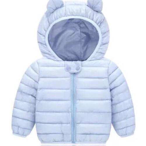 Áo khoác phao gấu sành điệu cho bé
