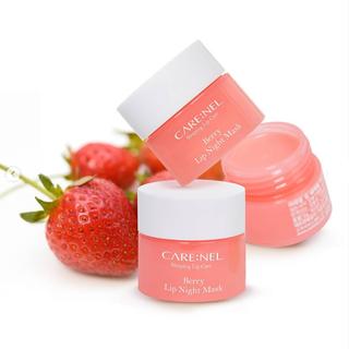 Mặt nạ ngủ môi Carenel Lip Sleeping Mask dưỡng ẩm và tẩy tế bào chết - gdfr 3