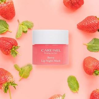 Mặt nạ ngủ môi Carenel Lip Sleeping Mask dưỡng ẩm và tẩy tế bào chết - gdfr 1