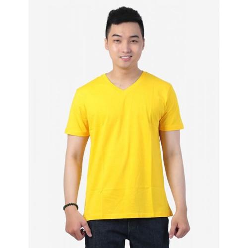 Áo thun nam cổ tim màu vàng thoáng mát, khử mùi, mỏng nhẹ - 12458864 , 20268665 , 15_20268665 , 199000 , Ao-thun-nam-co-tim-mau-vang-thoang-mat-khu-mui-mong-nhe-15_20268665 , sendo.vn , Áo thun nam cổ tim màu vàng thoáng mát, khử mùi, mỏng nhẹ