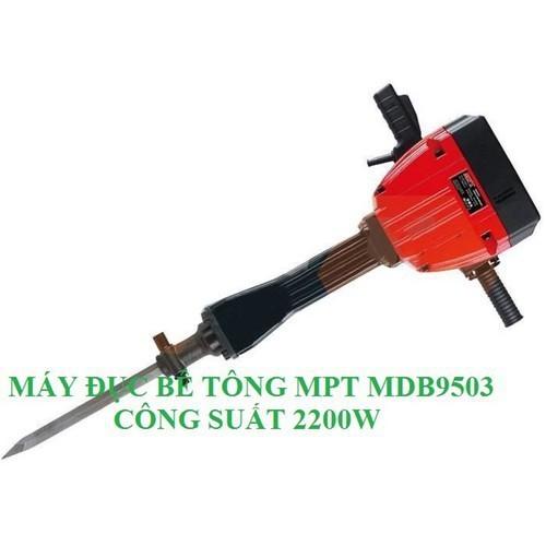 Máy đục phá bê tông hạng nặng MPT MDB9503 công suất đục 2200W - MPT MDB9503 quá khoẻ. - 11358506 , 20267000 , 15_20267000 , 15980000 , May-duc-pha-be-tong-hang-nang-MPT-MDB9503-cong-suat-duc-2200W-MPT-MDB9503-qua-khoe.-15_20267000 , sendo.vn , Máy đục phá bê tông hạng nặng MPT MDB9503 công suất đục 2200W - MPT MDB9503 quá khoẻ.