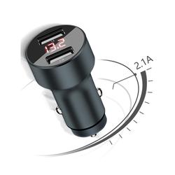 Sạc điện thoại di động ldbs _ 2 cổng USB 2.1A cho xe hơi