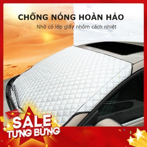 Tấm bạt che chắn nắng ngoài kính lái ô tô tráng phủ một lớp nhôm chống nóng cách nhiệt cho xe oto - 12495709 , 20290967 , 15_20290967 , 350000 , Tam-bat-che-chan-nang-ngoai-kinh-lai-o-to-trang-phu-mot-lop-nhom-chong-nong-cach-nhiet-cho-xe-oto-15_20290967 , sendo.vn , Tấm bạt che chắn nắng ngoài kính lái ô tô tráng phủ một lớp nhôm chống nóng cách n