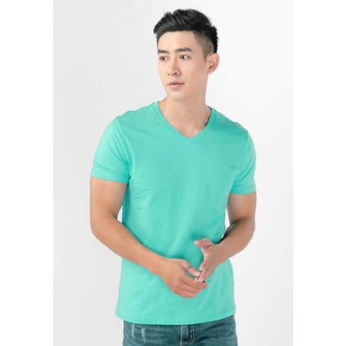 Áo thun nam cổ tim màu xanh ngọc thoáng mát, khử mùi, mỏng nhẹ - 12459058 , 20268896 , 15_20268896 , 199000 , Ao-thun-nam-co-tim-mau-xanh-ngoc-thoang-mat-khu-mui-mong-nhe-15_20268896 , sendo.vn , Áo thun nam cổ tim màu xanh ngọc thoáng mát, khử mùi, mỏng nhẹ