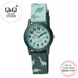 Đồng hồ trẻ em Q&Q Citizen VR99J010Y dây nhựa thương hiệu Nhật Bản