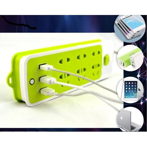 Ổ điện xanh đa năng kèm cổng cắm usb - 12447279 , 20252596 , 15_20252596 , 99000 , O-dien-xanh-da-nang-kem-cong-cam-usb-15_20252596 , sendo.vn , Ổ điện xanh đa năng kèm cổng cắm usb