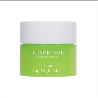 Mặt Nạ Ngủ Môi Dưỡng Ẩm Và Tẩy Tế Bào Chết Hương Chanh Carenel Lip Sleeping Mask Lime - gjsy 1