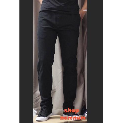 Quần kaki dài nam màu đen hàng cao cấp 45