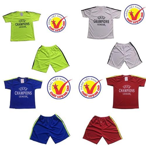 Sét 4 bộ đồ thể thao trẻ em, áo đấu câu lạc bộ dành cho bé trai và bé gái - 12456794 , 20265552 , 15_20265552 , 240000 , Set-4-bo-do-the-thao-tre-em-ao-dau-cau-lac-bo-danh-cho-be-trai-va-be-gai-15_20265552 , sendo.vn , Sét 4 bộ đồ thể thao trẻ em, áo đấu câu lạc bộ dành cho bé trai và bé gái