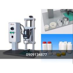 Máy đóng nắp chai thuốc, máy đóng nắp chai nước suối,máy xiết nắp chai nhựa bán tự động,máy đóng nmawps lọ thuốc dược phẩm DXD450