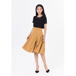 De Leah - Chân Váy A Xếp Li - Thời trang thiết kế