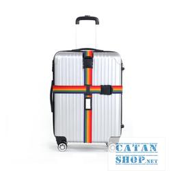 Dây khóa Vali chữ thập kèm thẻ hành lý, khóa hành lý chống trộm, khóa số an toàn DL37-DKVL-chuThap
