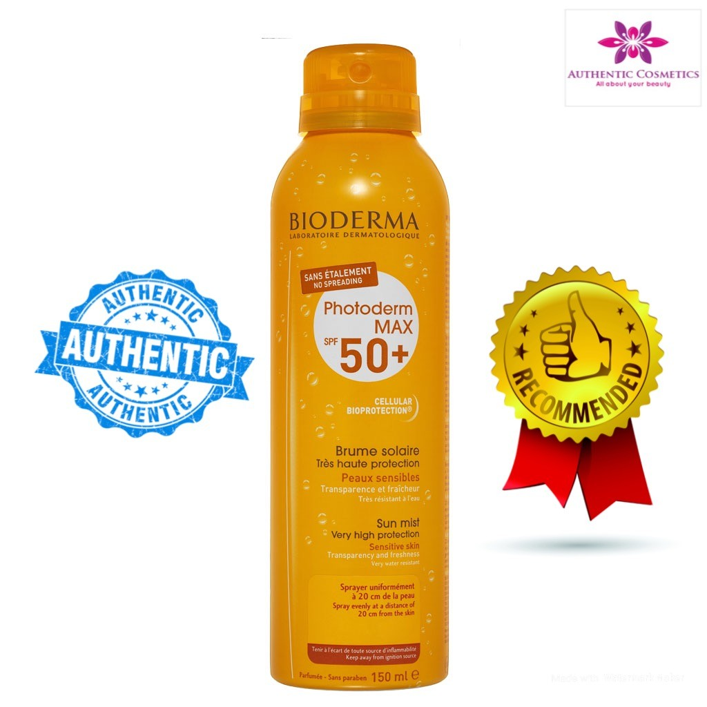 Xịt Chống Nắng Bioderma Photoderm Max Brume Solaire SPF 50