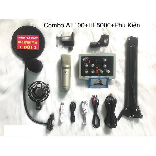 Combo micro at100 + soundcard hf5000 + full phụ kiện - 12494138 , 20289109 , 15_20289109 , 2110000 , Combo-micro-at100-soundcard-hf5000-full-phu-kien-15_20289109 , sendo.vn , Combo micro at100 + soundcard hf5000 + full phụ kiện
