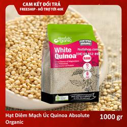Hạt Diêm Mạch Úc Quinoa Absolute Organic 1kg