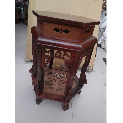 Ghế đôn gỗ hương cao 60cm