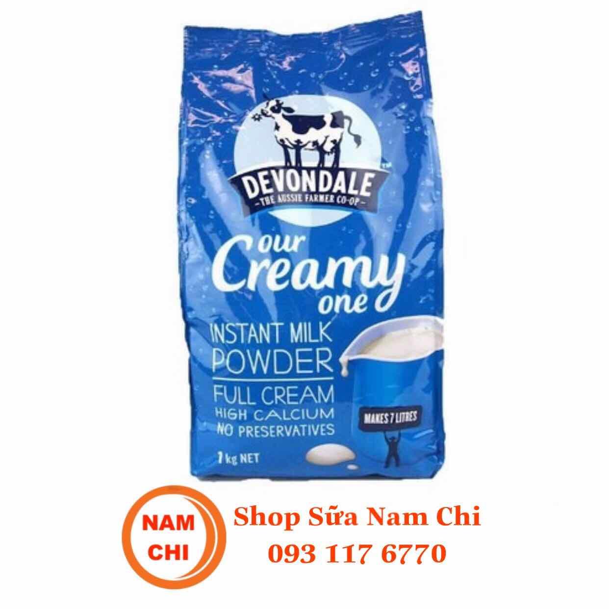 Sữa Bột Nguyên Kem Devondale 1kg Úc DATE 05-2020