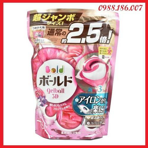 Viên giặt xả bold gel ball 3d hương hoa túi 44 viên của nhật bản - 12493325 , 20287560 , 15_20287560 , 295000 , Vien-giat-xa-bold-gel-ball-3d-huong-hoa-tui-44-vien-cua-nhat-ban-15_20287560 , sendo.vn , Viên giặt xả bold gel ball 3d hương hoa túi 44 viên của nhật bản