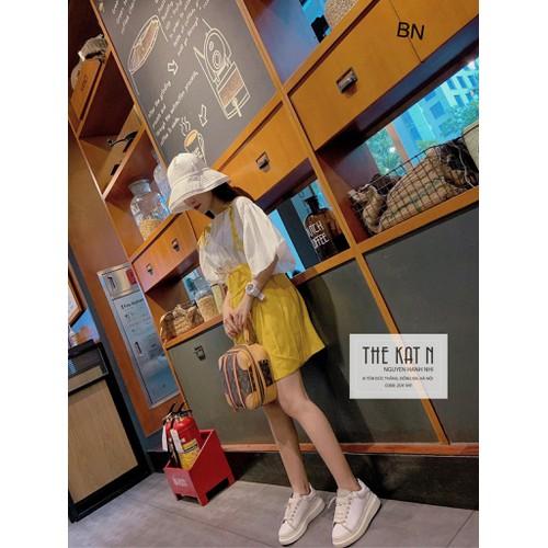 Set bộ đồ nữ đẹp chất cá tính dễ thương giá rẻ áo tay bèo + quần yếm  bn 86299 - 12461175 , 20305841 , 15_20305841 , 186000 , Set-bo-do-nu-dep-chat-ca-tinh-de-thuong-gia-re-ao-tay-beo-quan-yem-bn-86299-15_20305841 , sendo.vn , Set bộ đồ nữ đẹp chất cá tính dễ thương giá rẻ áo tay bèo + quần yếm  bn 86299