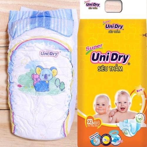 Tã dán unidry - tặng 1 bịch tã quần mini 40k