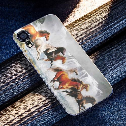Ốp điện thoại kính cường lực cho máy iphone x - xs - mã đáo thành công ms mdtc084