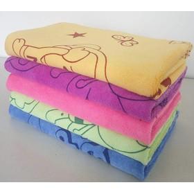 Khăn tắm dày đẹp - Bộ 5 khăn kích thước 50x100cm - Bộ 5 khăn 50x100cm