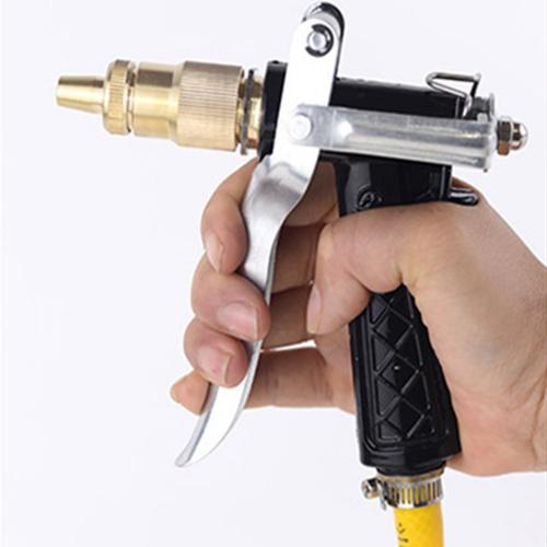 Bộ dây và vòi phun xịt tăng áp lực nươc 300 loại 20m ti400 5 - xám tặng đèn led gắn van xe k 131