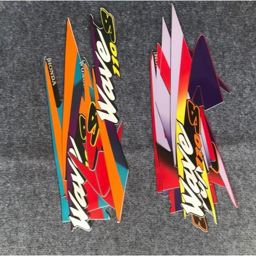 Tem trang trí xe wave thái s110 và các đời wave nhỏ khác màu sắc bắt mắt, rõ nét - 12492614 , 20286500 , 15_20286500 , 150000 , Tem-trang-tri-xe-wave-thai-s110-va-cac-doi-wave-nho-khac-mau-sac-bat-mat-ro-net-15_20286500 , sendo.vn , Tem trang trí xe wave thái s110 và các đời wave nhỏ khác màu sắc bắt mắt, rõ nét