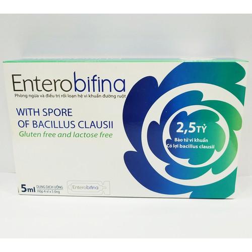 [Chính hãng] men vi sinh entero bifina dạng nước - nguyên liệu nhập khẩu từ mỹ - giúp cân bằng hệ vi sinh đường ruột - phòng ngừa và điều trị rối loạn hệ vi khuẩn đường ruột - hộp 20 ống - 12494905 , 20290000 , 15_20290000 , 130000 , Chinh-hang-men-vi-sinh-entero-bifina-dang-nuoc-nguyen-lieu-nhap-khau-tu-my-giup-can-bang-he-vi-sinh-duong-ruot-phong-ngua-va-dieu-tri-roi-loan-he-vi-khuan-duong-ruot-hop-20-ong-15_20290000 , sendo.vn , [Ch