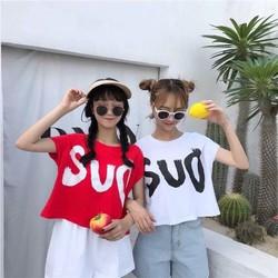 Áo Ctoptop Nữ In Chữ SUD Thời Trang OHS23