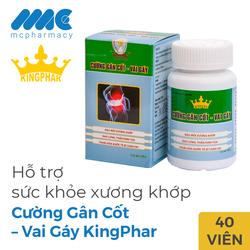 Cường Gân Cốt – Vai Gáy KingPhar hỗ trợ xương khớp