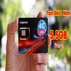 sim 4G Vina DATA KHỦNG XÀI MIỀN PHÍ 63GB 1 NĂM