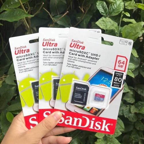 Thẻ nhớ sandick 64Gb