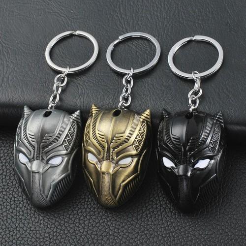 Móc khóa Avengers - Mặt nạ Black Panther